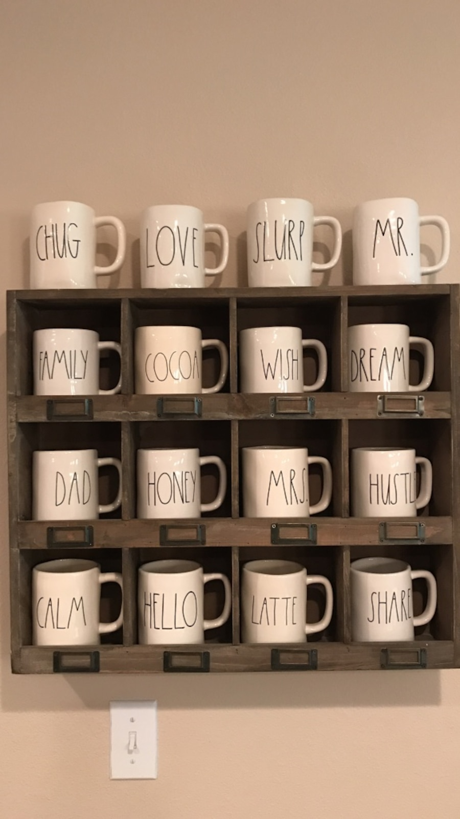 Rae Dunn Collection Mugs In Harlingen Letgo