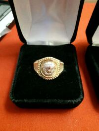 10k gold versace ring size 11 Halifax