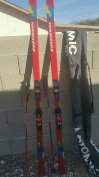 black and red snow skis Inglewood, 90305