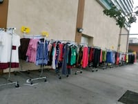 assorted-color of clothes Los Angeles, 90015