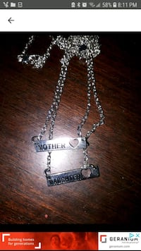 New Mother/Daughter necklaces