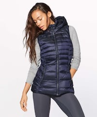 Lululemon Down for it vest - Size 6 Puffy Hamilton