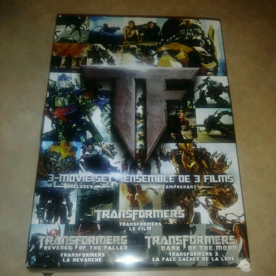 Dvds in Great condition: transformers 3 movie dvd