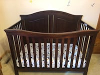 Crib, changing table, and dresser Williamston, 48895