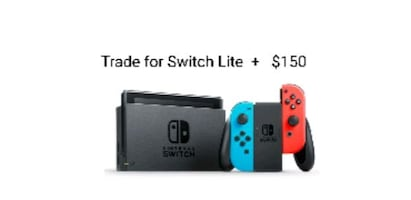 Nintendo Switch Trade