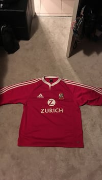 L Adidas Lions Rugby Tour 2005 Jersey