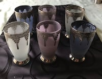 Lowered Price. Moroccan Tea / Coffee Glasses - Think Christmas gift! Brampton, L6T 0C7