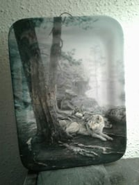 Wolf Collectable Plate