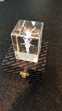 Disney Tinkerbell 3D sculpture in lucite cube Honolulu, 96813