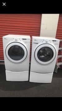 white front-load washer and dryer set Englewood, 80113