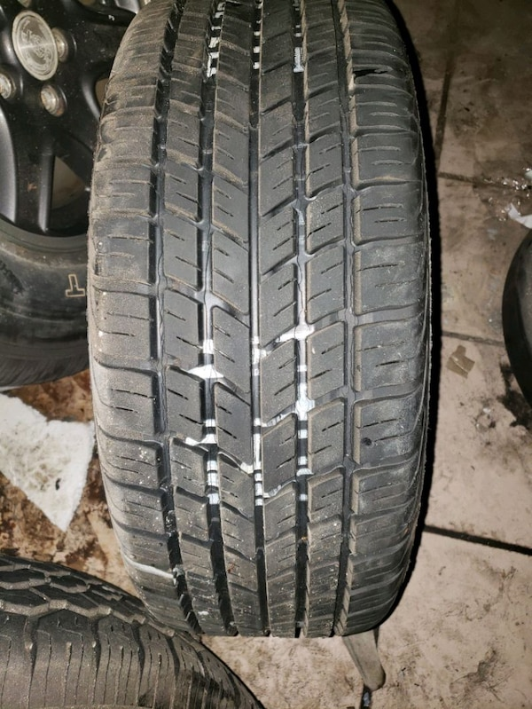 Used tire and rim 4