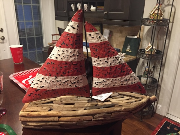 Sale boat decoration