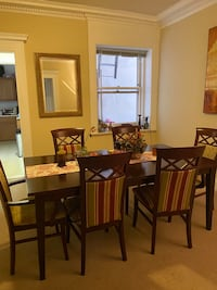 $80 Moving sale! Must sell! Price negotiable- Dining table with chairs