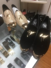 pair of black leather loafers Kitchener, N2H