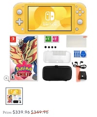Nintendo Switch Lite Bundle with Pokemon