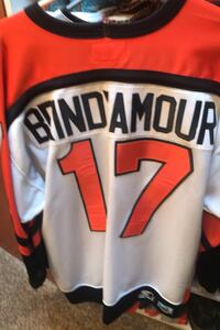 Flyers jersey size large