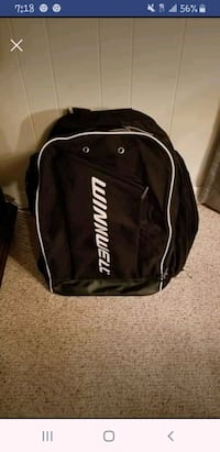 Large Hockey back pack Deptford Township