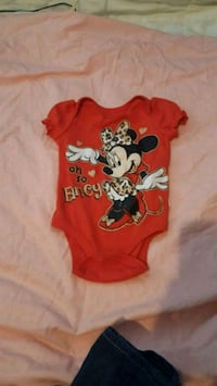 6-9mo Minnie Mouse onsie Portsmouth, 23707