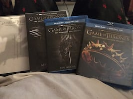Game of Thrones Blu-ray and DVD seasons one-four