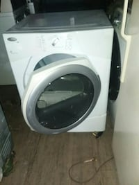 white and grey Whirlpool front-load clothes washer Norfolk, 23508