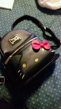Hello kitty leather backpack Toronto, M4C 2L8
