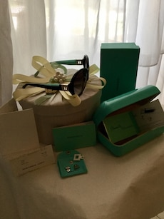 Tiffany&co Sunglasses with case and box