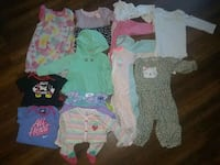 LOT of girls clothes size 9-12 months Manassas, 20110