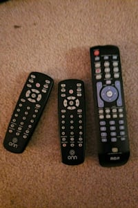 two black and gray remote controls Los Angeles, 90009