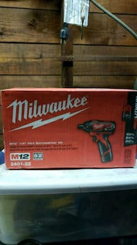 red and black Milwaukee power tool box Plymouth, 06786