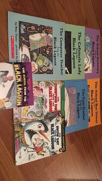 From the black lagoon books $3 for all