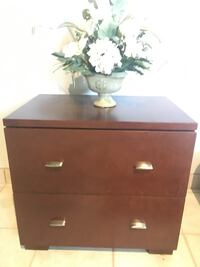 2 wooden night tables  Vaughan