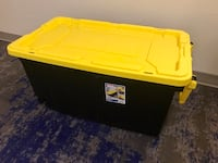 40 gallon Sterlite Storage Box on Wheels with handle Washington, 20036