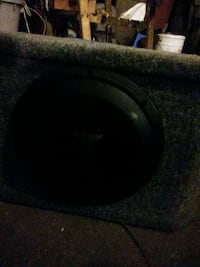 black and gray subwoofer speaker Louisville, 40216