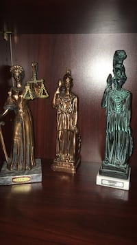 2 Athena's and 1 Themis Statues  Calgary, T2Y