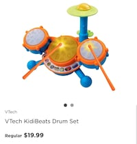 Kids/toddler Drum set