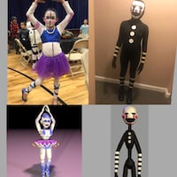 Five nights at Freddy's FNAF Ballora and Marionette Halloween costumes Linganore, 21774