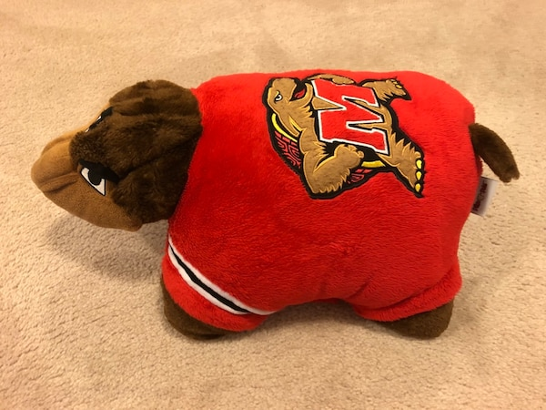 University of Maryland Terrapins collapsible pillow