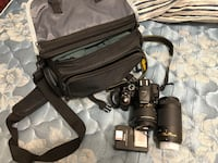 Nikon D5300 Camera For sell with accessories description below : Wall charger ,Battery ,Stripes to hold camera into neck,18-55 mm Lens (default), 70-300 zoom lens ,With all together also memory card of ScanDisk (64 GB) to take lots of photos and video wit Montréal, H1V 2H6
