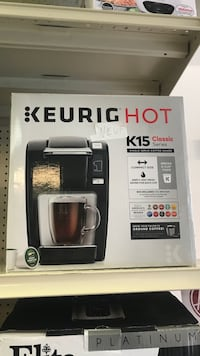 black and gray Keurig HOT K50 Classic Series coffeemaker box Montréal, H2S 2L9