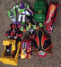 assorted color plastic toy lot Tucson, 85719