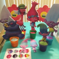 Trolls party set. Perfect for cake table or candy buffet Orlando, 32822