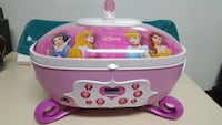 Disney Princess Jewelry Box/CD Player