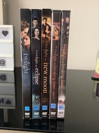 Twilight DVD collection  Charlotte, 28210