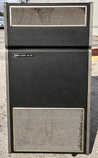 Leslie 910 Speaker Cabinet for Hammond Organ. Needs new input connector. Untested. Sold as is. Jacksonville, 32223