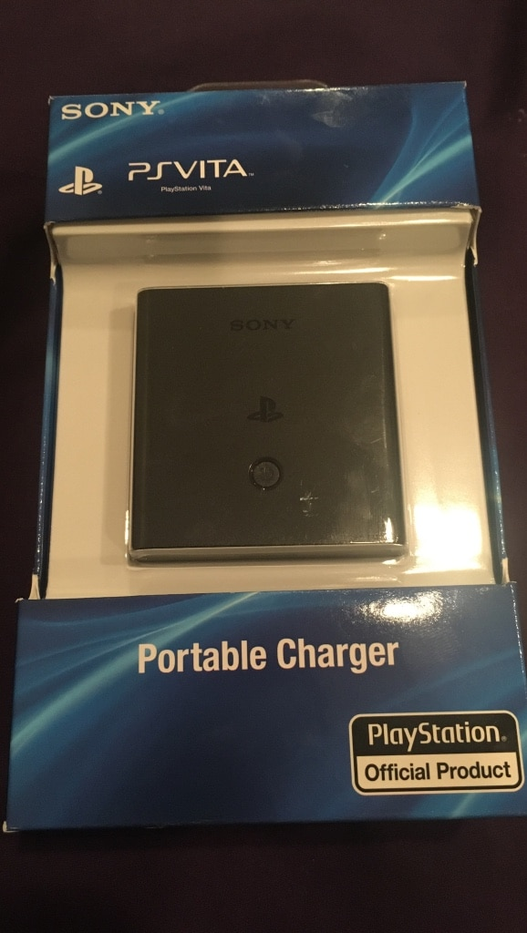 black Sony PS Vita portable charger pack for sale  Surrey