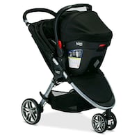 baby's black and gray stroller Richmond Heights, 44143