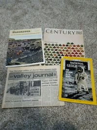 4 magazine's/paper from the 60s and 70s Hamilton, L8J 1N9