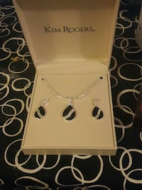 Kim rogers necklace and earrings