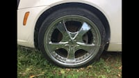 4 Chrome Rims & Tires