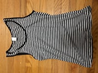 black and white striped tank Toronto, M3M 2G1